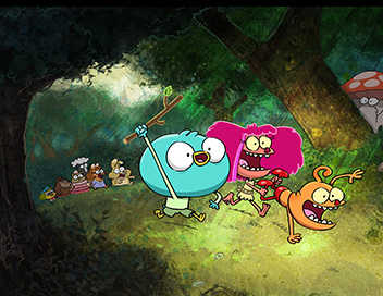 Harvey Beaks - L'arbre à crachat