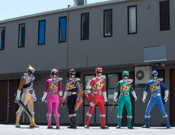 Power Rangers Dino Super Charge - Inversion et division