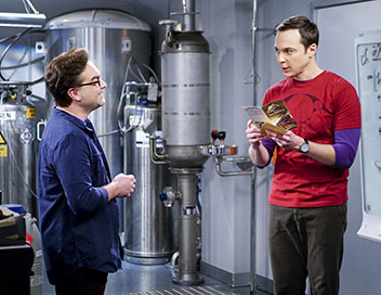 The Big Bang Theory - La réverbération de la locomotive
