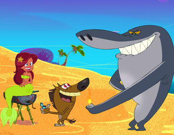 Zig & Sharko - Miniatures