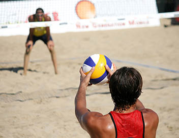 Beach-volley (Masters de Baden)
