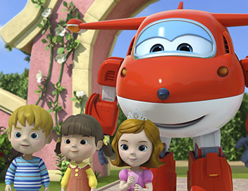 Super Wings, paré au décollage ! - A la poursuite du fantôme