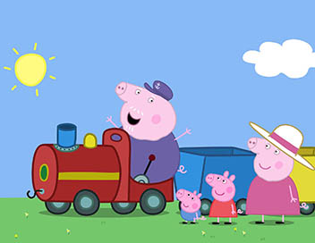 Peppa Pig - Le petit train de Papy Pig